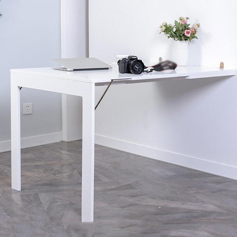 Faltbarer Wandtisch Wand-Klapptisch Esstisch Home Laptop-Tisch Bücherregal Tisch Student Studie Tisch  90x60x75cm