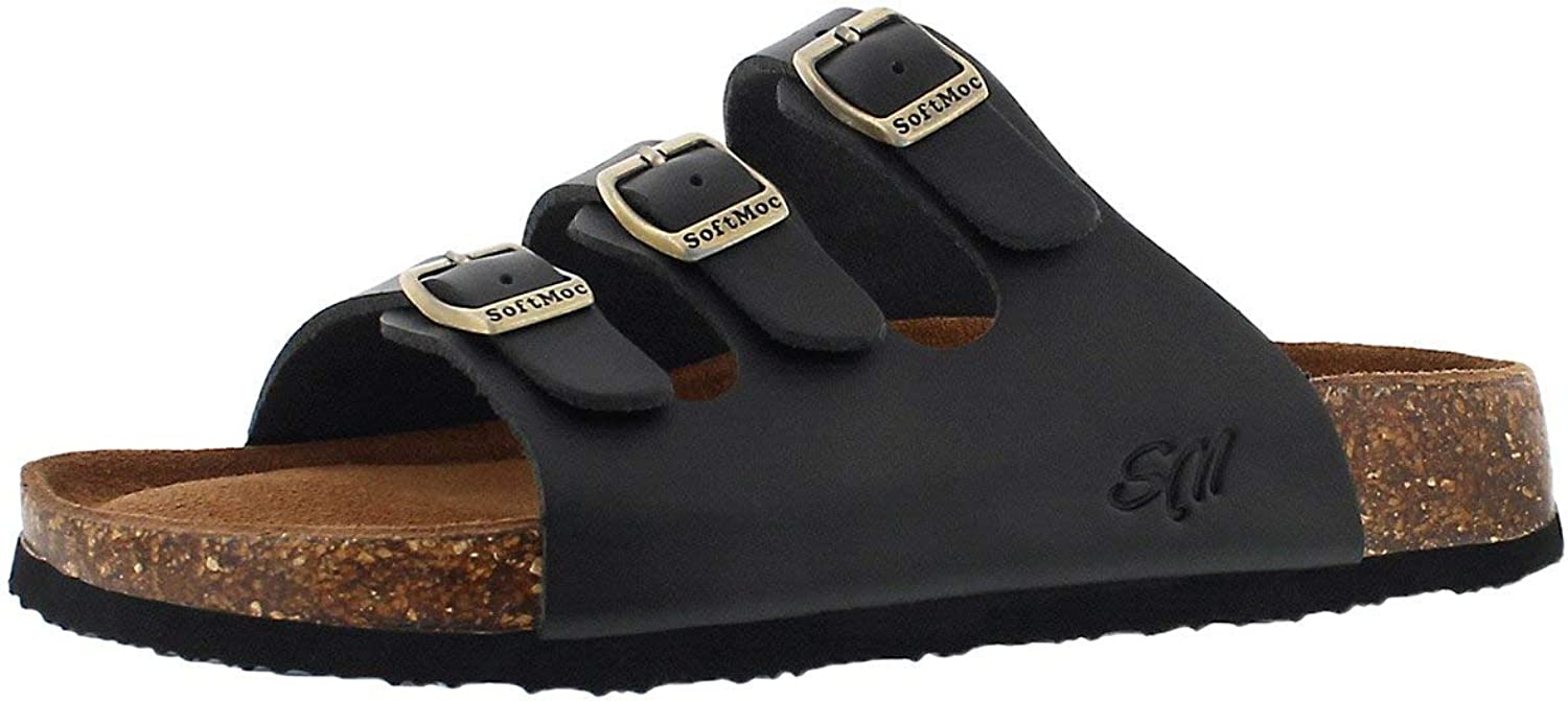 SoftMoc Women's Alexis 5 Cork Footbed Slide Sandal