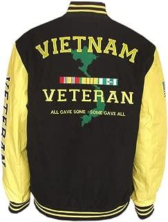 JWM Men's Varsity Jacket Vietnam Veteran