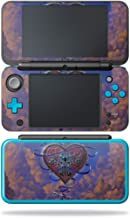 MightySkins Skin Compatible with Nintendo New 2DS XL - Heart and Key | Protective, Durable, and Unique Vinyl Decal wrap Cover | Easy to Apply, Remove, and Change Styles | Made in The USA