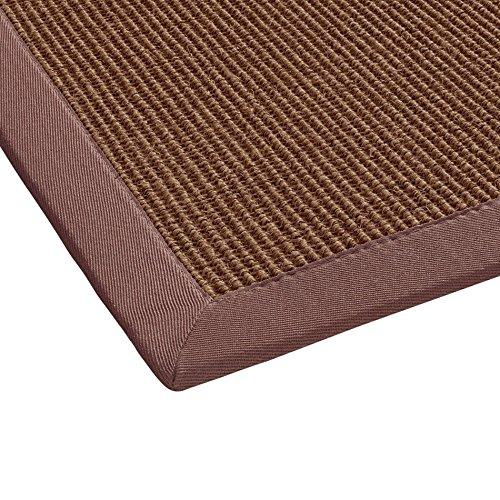 BODENMEISTER Tappeto in sisal, Moderno e di Alta qualità, Tessuto Piatto, Orange Terra, 120 x 170