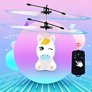 Flying Toys | Rechargeable RC Helicopter | Unicorn Drone Flying Toys for Kids | Indoor Toys | Unicorn Remote Control Helicopter | Infrared Induction Flying Unicorn Drone Helicopter