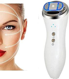 Facial HIFU Skin Care Machine, Facial Lifting Massager Machine, High Intensity Focused Face Lift RF LED Skin Rejuvenation Machine, Face Lift Tighten Skin Firming Whitening,Wrinkles Remove Anti-Aging B