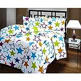 Factorywala Star Print Blanket: Dohar: AC Quilt: Comforter - Free Golden Chain