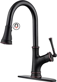 Kitchen Sink Pull-Down Faucet Replacement Pull Out Spray Head Oil Rubbed Bronze