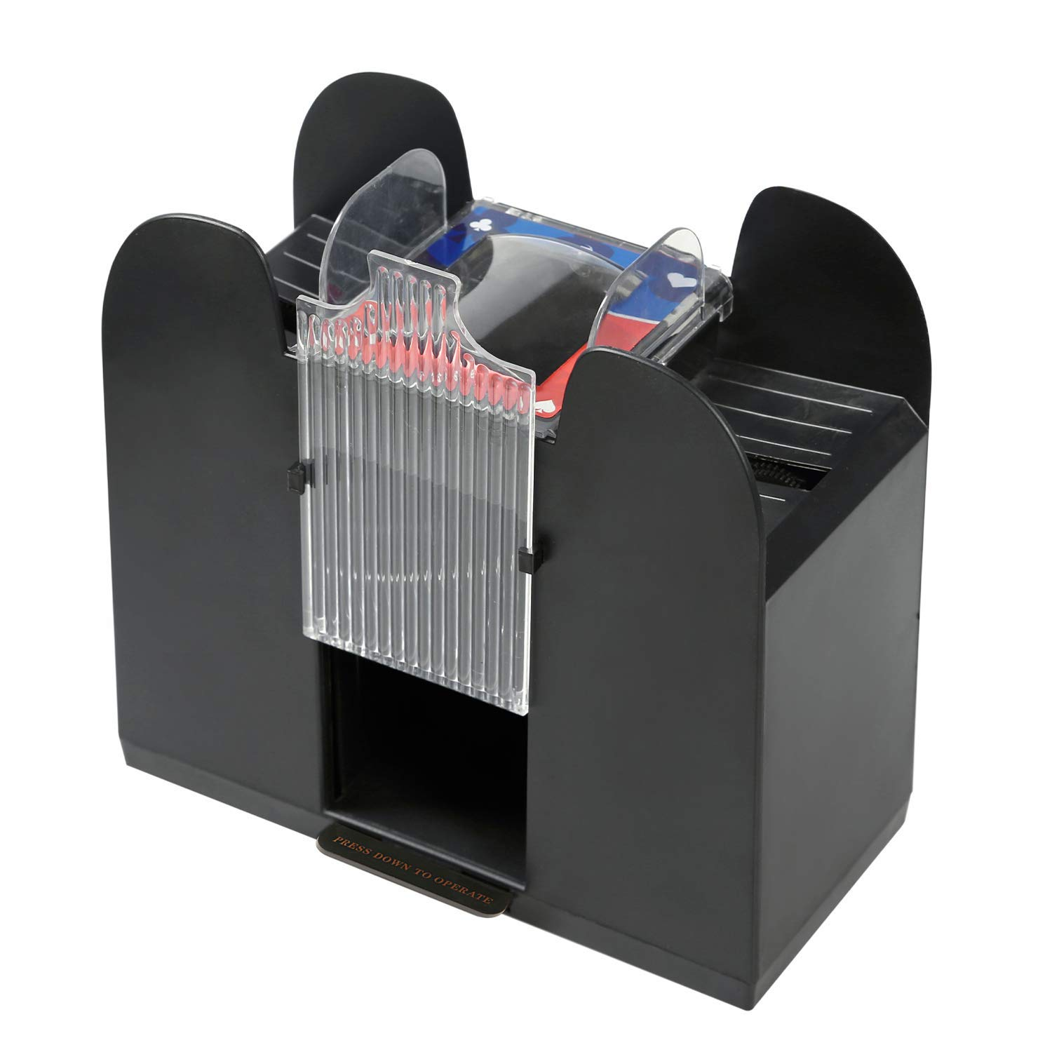 Premium Automatic Card Shuffler by Rally and Roar - Battery Operated, Holds  up to 4 Decks, Professional Cards Shuffling Machine - Shuffles Quickly,