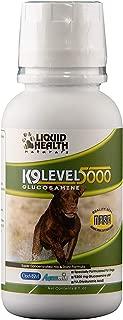 Liquid Health K9 Level 5000 Glucosamine Chondroitin Opti MSM 8 or 32 oz