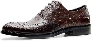 [ONE MAX] ビジネスシューズ メンズ 本革 フォーマル 内羽根 スーツ用 クロコダイル柄 ドレスシューズ 高級靴 革靴 レースアップ ロングノーズ スタイリッシュ 通気 防滑 耐久 防臭 おしゃれ