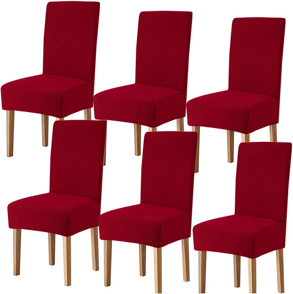 Lacoreka Dining Chair Covers Seat Slipcover of Fees free!! 6 Stretch Fit Set Max 60% OFF