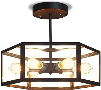 Amazon.com: GlanzLight GL-62789-3 Postmodern - Lámpara de ...