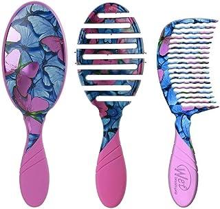 Wet Brush Pro 2.0 - Metamorphosis Collection Trio. Bundle Includes 1 Original Detangler Brush, 1 Flex-Dry Blow Drying Brus...