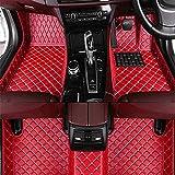 DGDD Coche Cuero Alfombrillas para BMW 6 Series G32 GT 2018-2019, Cobertura Completa Impermeable Antideslizantes ProteccióN Moquetas Interior Accesorios