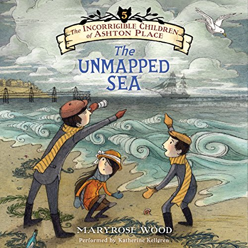 The Unmapped Sea audiobook cover art