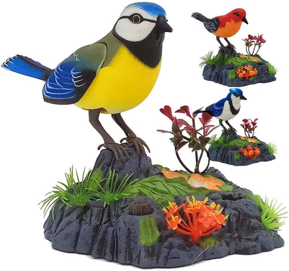 Luojlput Simulation bird toys will be moving birds called Luxury goods c fake Ultra-Cheap Deals