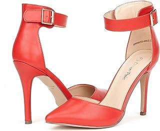 a155646119e Amazon.com: Red Women's Pumps & Heels