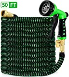 Best Flexible Garden Hoses - HBlife 50ft Garden Hose, All New 2020 Expandable Review
