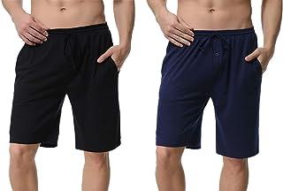 Socks Uwear Mens Honeycombe Jersey Pyjama Shorts Lounge Wear