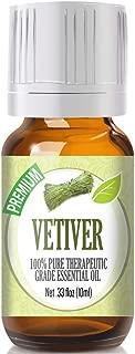 Vetiver Essential Oil - 100% Pure Therapeutic Grade Vetiver Oil - 10ml