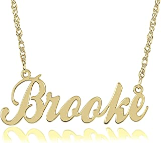 Best nameplate necklace chicago Reviews