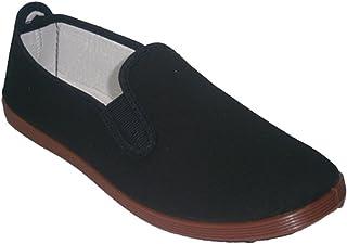 Zapatillas para Taichi kunfú y Yoga Irabia en Negro