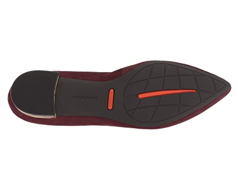 Movimiento Láser Total Blackmaroonwarm Loafer Adelyn Rockport Hierro 65wpxqZZ