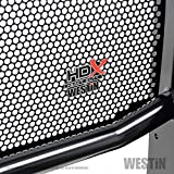 Westin 57-3965 HDX Grille Guard 2 in. Dia. Black Steel HDX Grille Guard