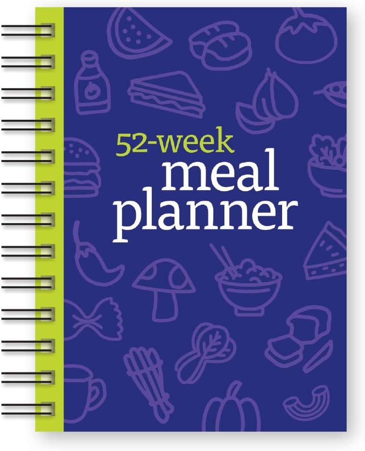 ファッション通販 Weight Watchers 52-Week Meal 現品 Planner