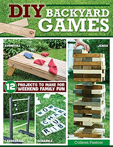 DIY Backyard Games: 12 Projects to Make for Weekend Family Fun