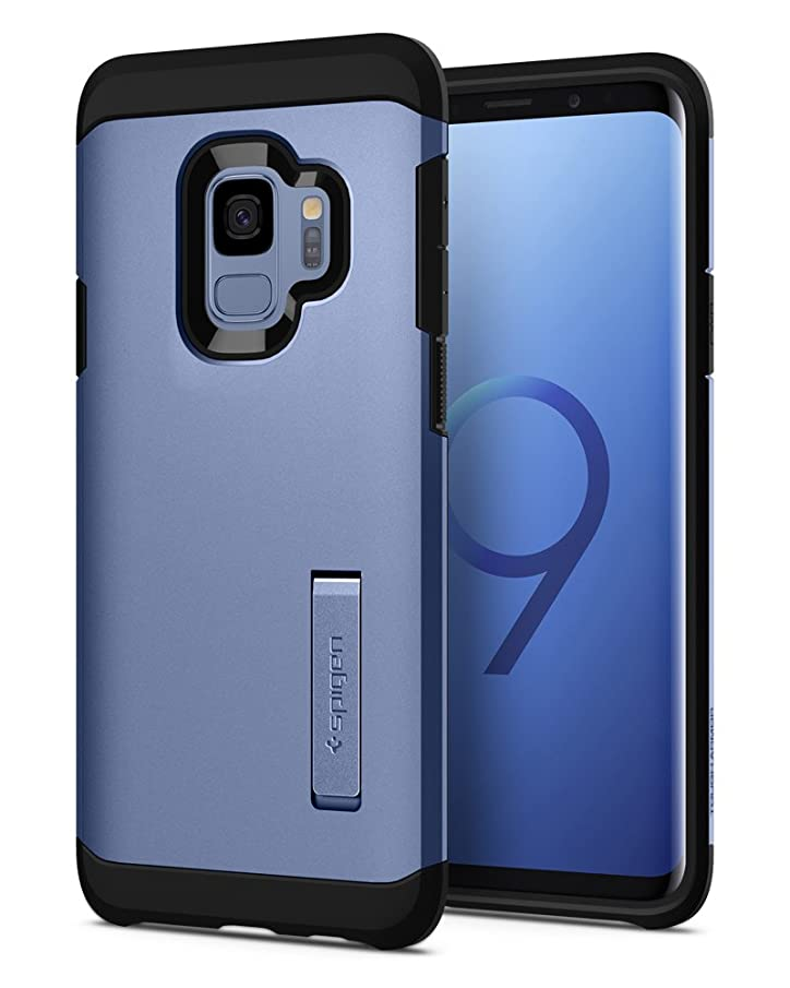 Spigen Tough Armor Designed for Samsung Galaxy S9 Case (2018) - Coral Blue