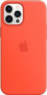 Apple Custodia MagSafe inSilicone (per iPhone 12 Pro Max), Arancione Elettrico