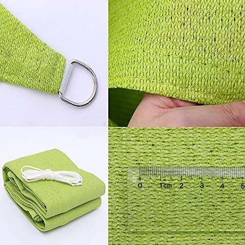 JKCTOPHOME Paño de protección UV,Cifrado Engrosado 185 Gramos de Velas rotas-Cuatro ángulos_5.49 * 5.49m,Sombrilla de Patio