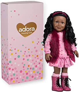 Adora Amazing Girls 18-inch Doll, ''Furry & Fabulous Jada'' (Amazon Exclusive)