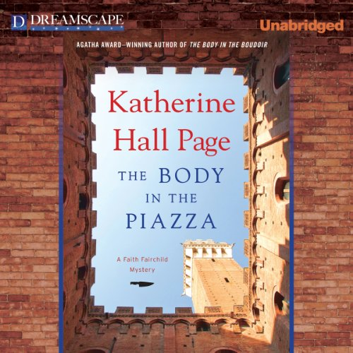 The Body in the Piazza audiobook cover art
