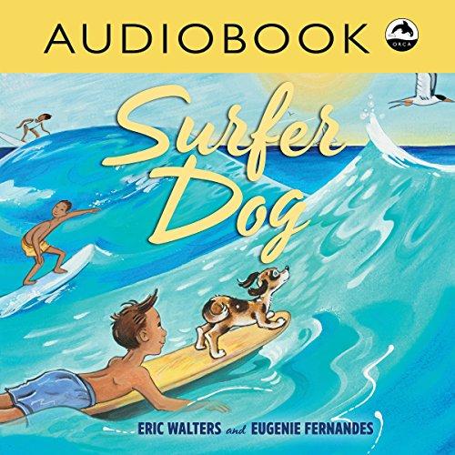 Surfer Dog audiobook cover art
