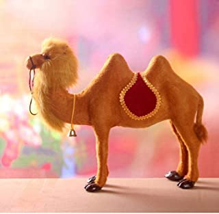 Statue Decorbig Camel 34X28Cm Simulation Model Toy Polyethylene Resin Crafts Props Home Decoration