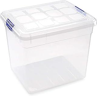 حافظة طعام بلاستيكية من فورتيه - شفاف