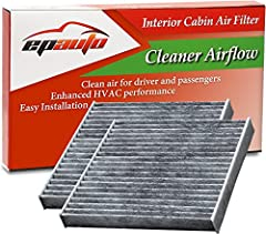Clean air for driver and passengers Contains soda and carbon to generate fresh breeze air Enhanced HVAC performance, Recommended replacement every 12 months or 12,000 miles. Replacement for FRAM CF10285, Replacement for Toyota Genuine Part# 87139-020...