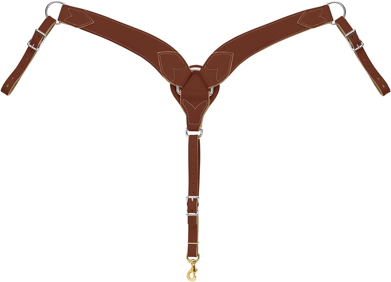 WEAVER Leather Ranking TOP1 Horizon Bombing free shipping Breast Collar Roper