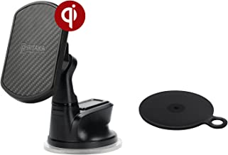 pitaka Magnetic Windshield Car Mount[Suction Cup Magmount]-Premium Luxury 360 Degree Rotation Suction Cup Phone Holder for Smartphones