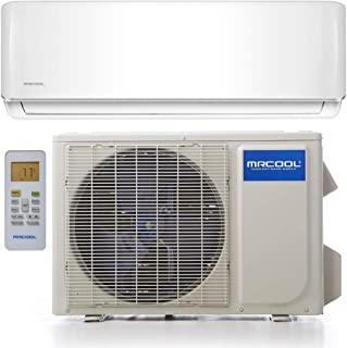 MrCool O-ES-18-HP-230 Oasis ES 18,000 BTU 1.5 Ton Ductless Mini Split Air Conditioner and Heat Pump, 25 ft. Install Kit - 230V/60Hz