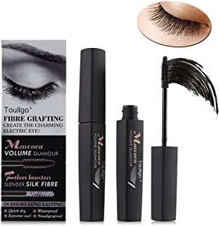 Fiber Lashes Mascara, 3D Fiber Lash Mascara, 3D Fiber Mascara For Thickening & Lengthening, Last All Day, waterproof, smudge proof & hypoallergenic ingredients