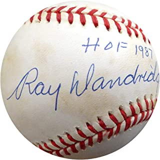 Ray Dandridge Signed Official NL Baseball Negro Leagues HOF 1987 Memorabilia - Beckett Authentic