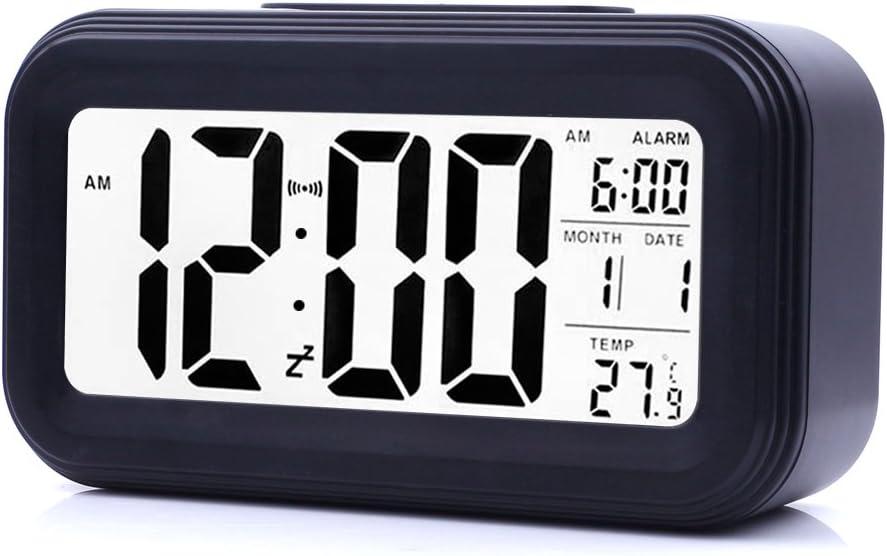 JJCALL Alarm Clock Max 40% OFF LED Digital Mesa Mall Display Night Snooze