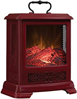 Duraflame Electric DFS-7515-03 Fireplace Stove Heater, Cinnamon