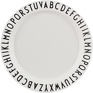 Design Letters - Melamine Alphabet Plate - Large 9.5 in