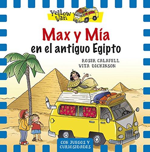 Max Y Mía En El Antiguo Egipto: Yellow Van-6