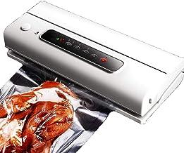 ALY Envasadoras al vacío, Máquina Selladora al Vacío Viene con 10 Bolsas de Vacío Alimentos Carne Verdura Almacenamiento de Fruta