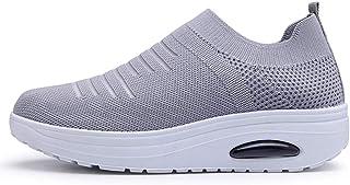 c5d9bb83e67f35 POLPqeD Donna Sneaker Comodo Scarpe,Casual Dimagrante Passeggio & Scarpe  Outdoor Tennis Piattaforma Running Scarpe