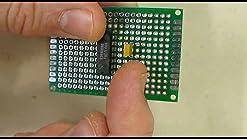 10PCS///3x7cm Double Side Prototype PCB Universal Printed Circuit Board Piastra sperimentale fai-da-te