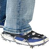 Semptec Urban Survival Technology Cadenas de Nieve para Calzado: 1 par de Cadenas de Zapatos para Todo Tipo de Calzado, Tallas 35-43 (Cadenas para Zapatos)